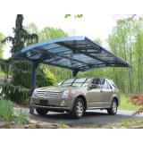 Palram Arizona 5000 hliníkový přístřešek pro auto s obloukovou střechou