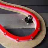 IGM Flexibilní šablona pro frézování oblouků a křivek - 2000x18x18mm