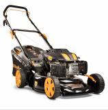 Riwall PRO RPM 4635 P multifunkční travní sekačka 3 v 1 s benzinovým motorem bez pojezdu