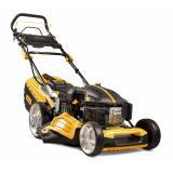 Riwall PRO RPM 4835 E Pro multifunkční travní sekačka 4 v 1 s benzinovým motorem a pojezdem