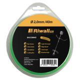 Riwall PRO Žací struna pr. 2mm, délka 40m, čtvercový průřez