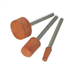 Sada brusných hrotů z oxidu hliníku 3ks, D9-10-15mm S=3,2mm - zvětšit obrázek