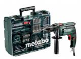 Metabo SBE 650 SET (600671870) PŘÍKLEPOVÁ VRTAČKA 600671870
