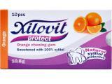 žvýkačky Xilovit protect ORANGE 10,8g, 1blistr=10 žvýkaček
