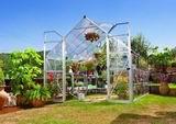 Palram Balance 8x12 silver polykarbonátový skleník