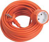 Prodlužovací kabel oranžový 20m 1 zásuvka