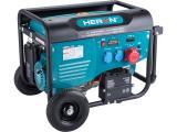 elektrocentrála benzínová 13HP/6,0kW (400V), 2x2,2kW (230V), elektrický start, podvozek