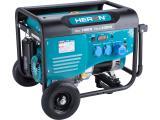 elektrocentrála benzínová 7,0kW/15HP, pro svařování, podvozek