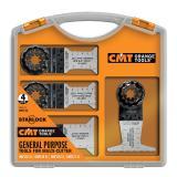 CMT Starlock Sada pro multifunkční nářadí, 4 ks