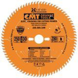 CMT XTreme Pilový kotouč na profilové lišty - D250x3,0 d30 Z80 HM