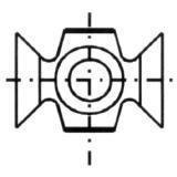 IGM N032 Žiletka tvrdokovová - R4 22x16x5 Dřevo