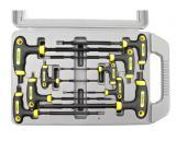 T-klíče IMBUS, sada 9ks, H2-10mm