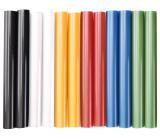tyčinky tavné, mix barev, pr.11x100mm, 12ks