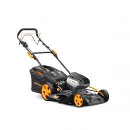 Riwall PRO RALM 4640SPi aku 40 V travní sekačka 4v1 s pojezdem a bezuhlíkovým motorem - zvětšit obrázek