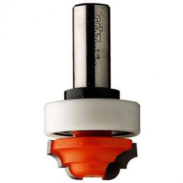 CMT Profilová fréza čelní s ložisem. - R19 D2,4x12 S=6 HM - zvětšit obrázek
